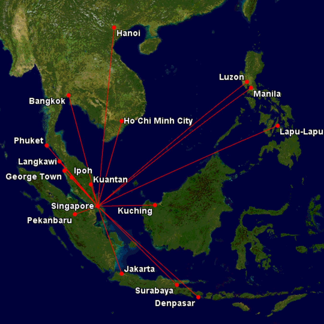 Image of: Many South East Asian Cities From Athens For 256 Cyflyer